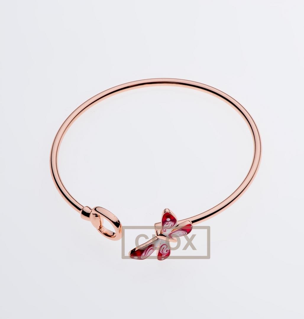 406c6e65bd0 Браслет Gucci Flora Rose Gold and enamel 389132 I83J0 8266
